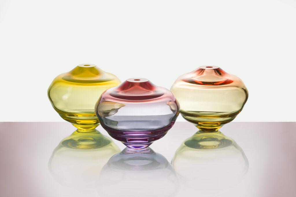 Lentil Vases od Františka Jungvirta. Foto Anna Pleslová