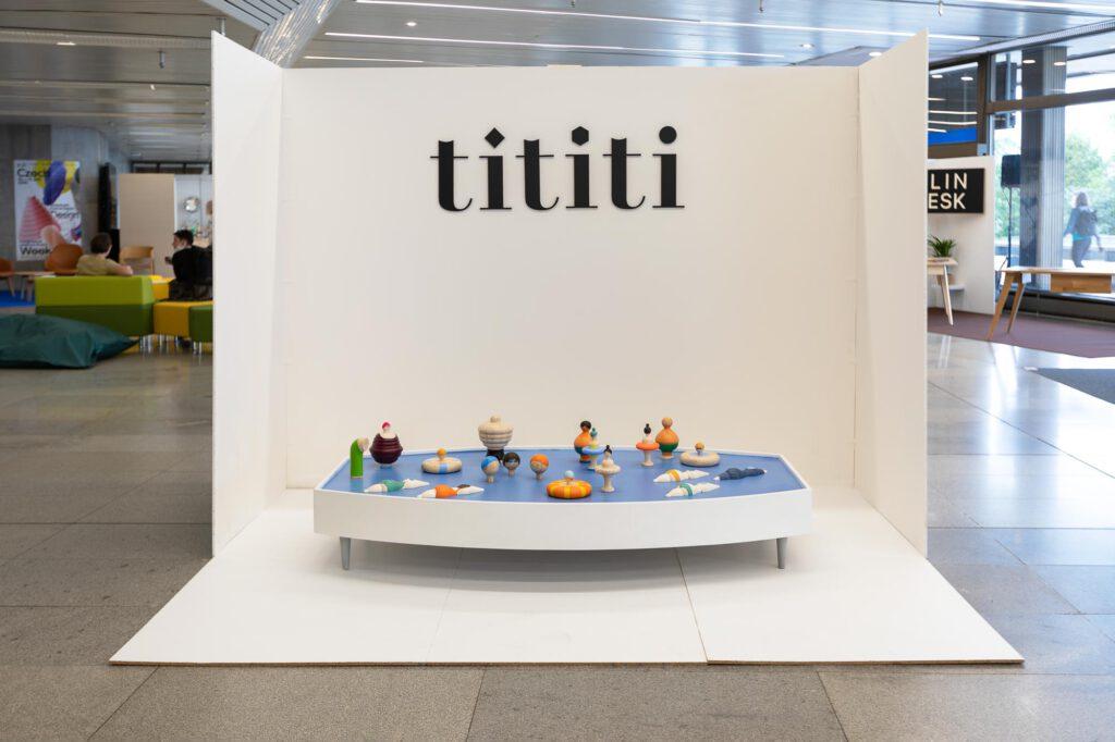 Instalace Tititi - CZDW 2020. Foto: Anna Pleslová