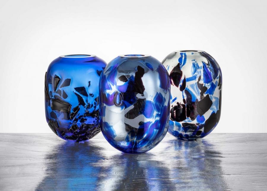 Vázy z kolekce Eternity od Anny Jožové