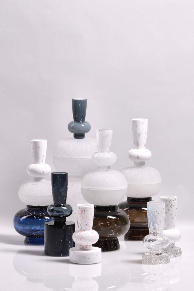 Limitovaná kolekce ručně foukaných váz od Jiřího Krejčiříka