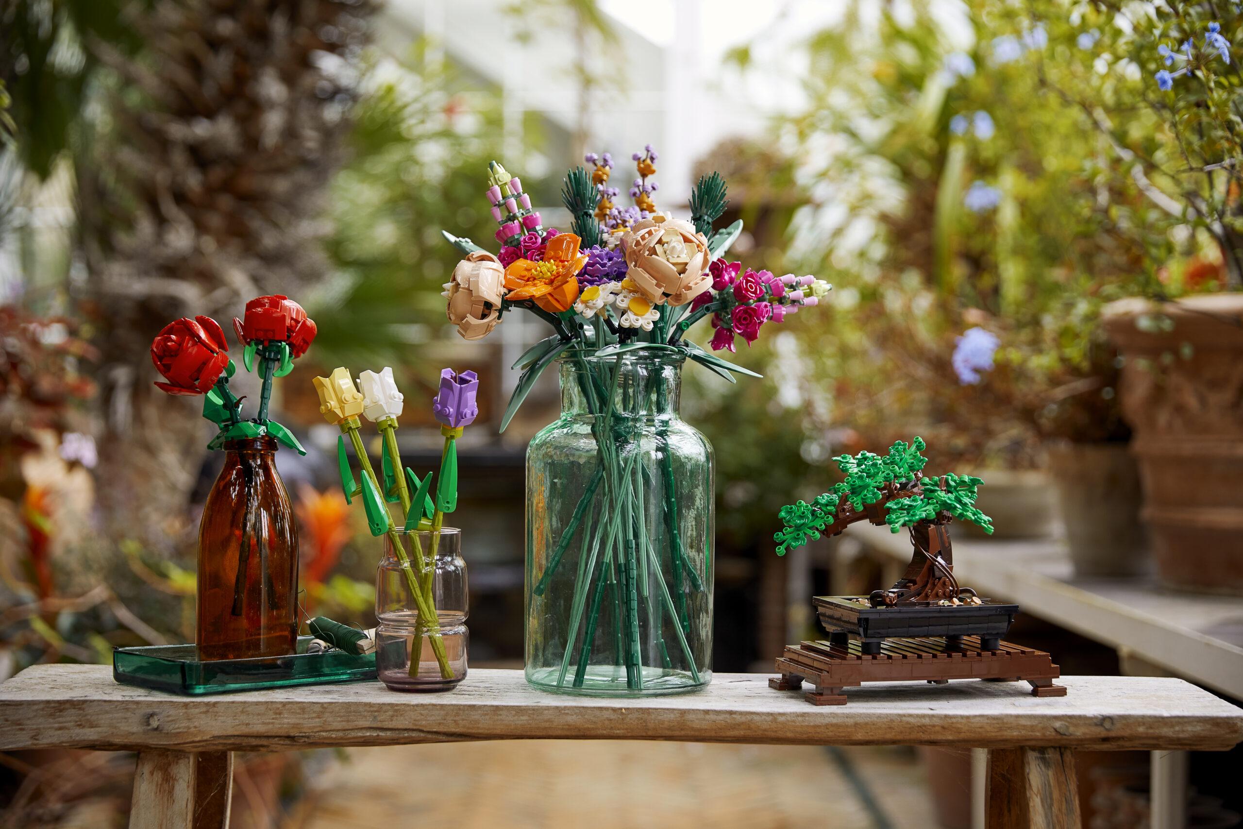 Botanická kolekce od LEGO. Foto LEGO
