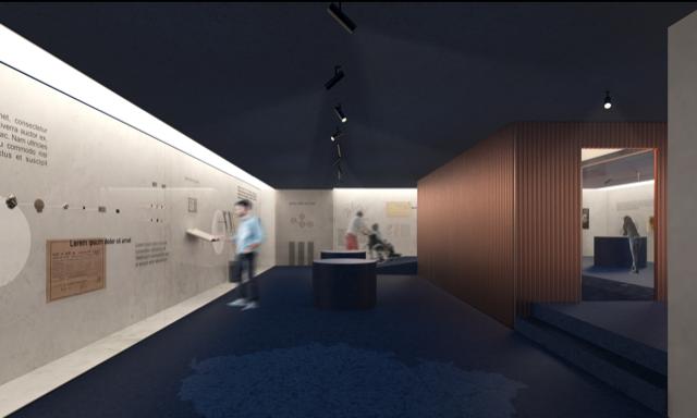 Monika Kozderková - projekt ČNB - Ateliér designu nábytku a interiéru UMPRUM