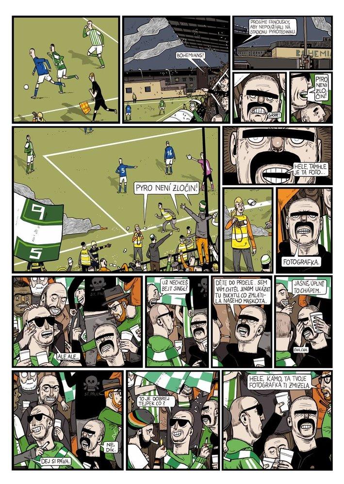 Do komiksu vnesl Franta svůj smysl pro drobnokresbu. Foto Labyrint