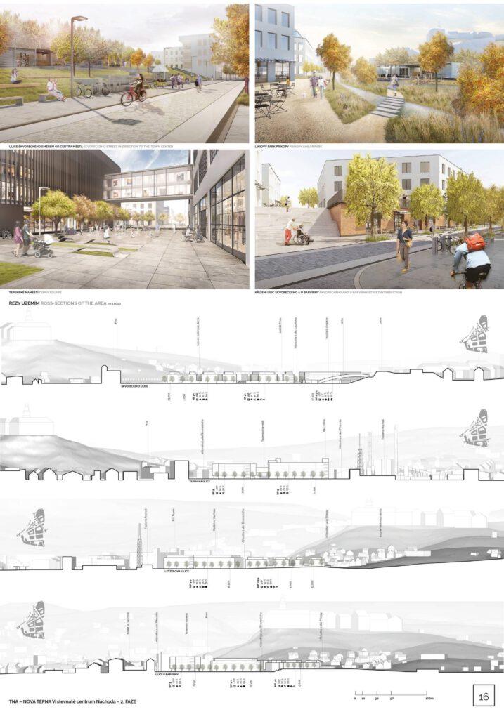 Návrh pražské kanceláře Divergent. Zdroj Město Náchod