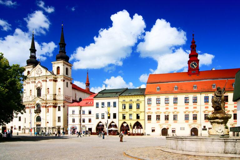 Masarykovo náměstí v městské památkové rezervaci. Foto Stanislav Dusík