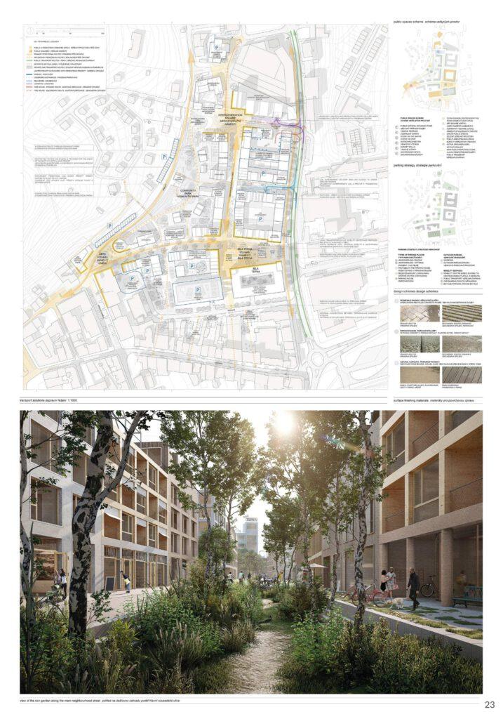 Dokončení celé čtvrti může podle radnice trvat i několik desetiletí. Zdroj Město Náchod