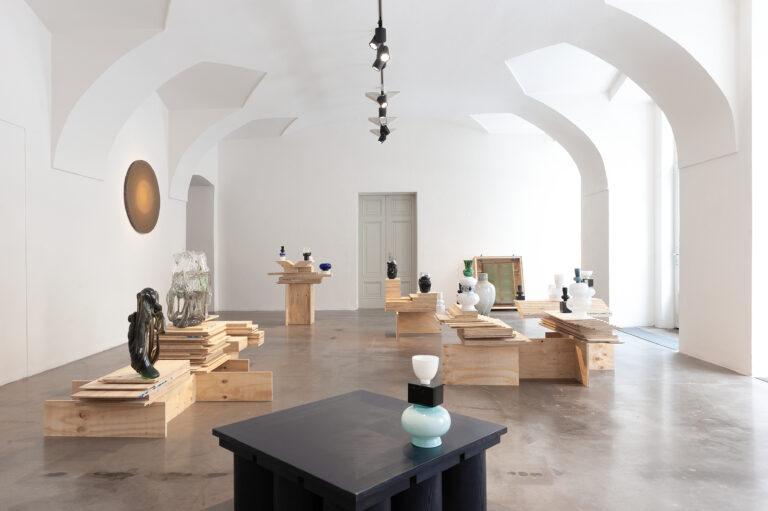 Výstava New glass selection v galerii Kvalitář. Foto David Růžička