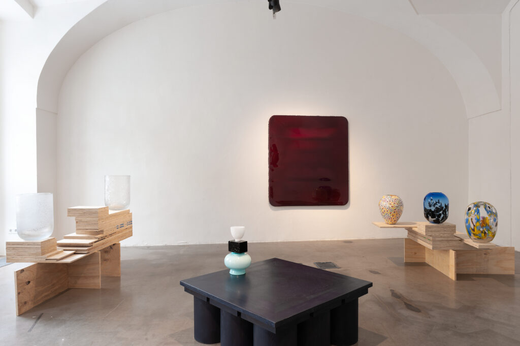 Výstava New glass selection v Kvalitáři trvá do konce dubna. Foto David Růžička