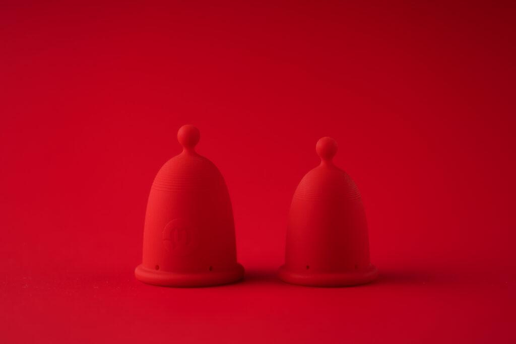 Menstruační kalíšek Whoop.de.doo designérky Anny Marešové. Foto Czech Grand Design