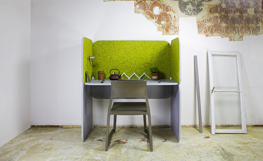 Pracovní stanice Sileencio od design studia LLEV. Foto Czech Grand Design