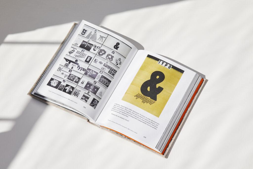 Graficky design knihy Clara mapující život a práci Clary Istlerové navrhla absolventka UMPRUM Anežka Minaříková. Foto Czech Grand Design