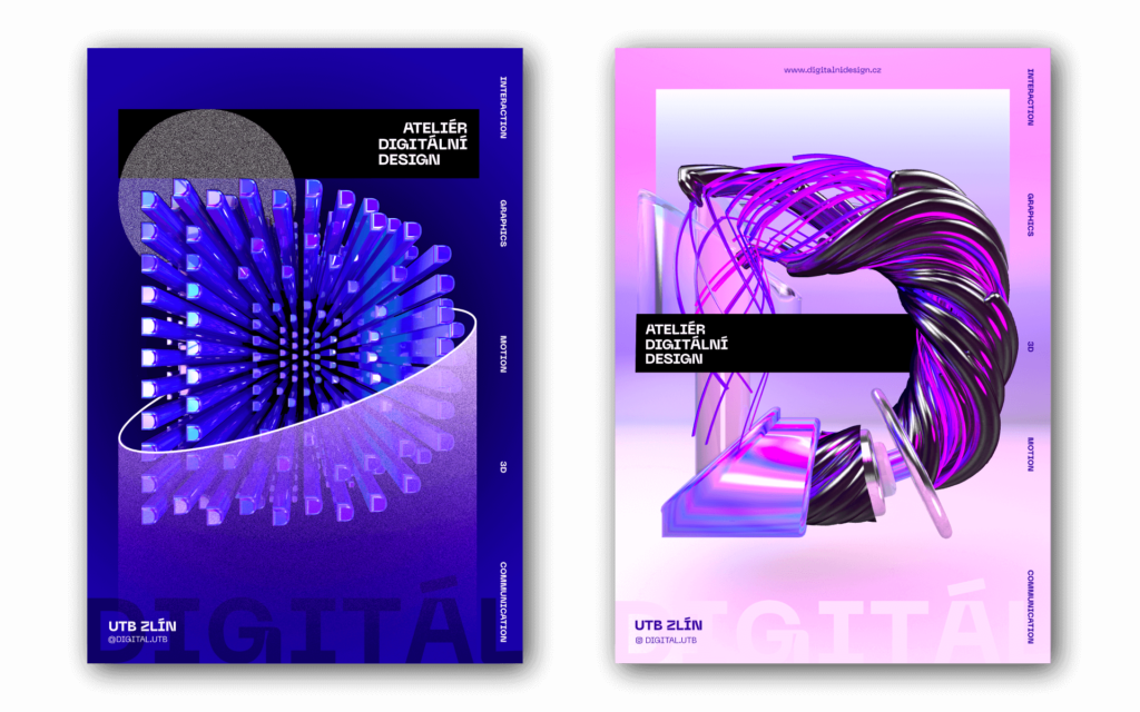 Adam Komůrka - vizuál Buď DIGITÁL. Zdroj Zlin Design Week