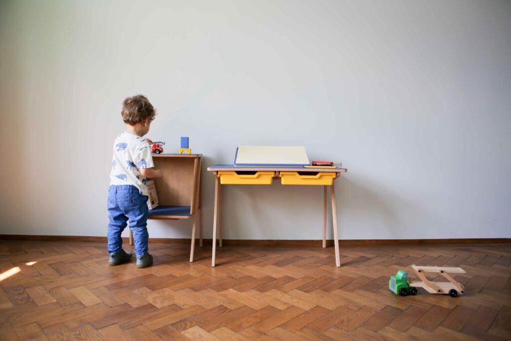 Kateřina Klímová - kolekce nábytku pro předškolní děti. Zdroj Zlin Design Week