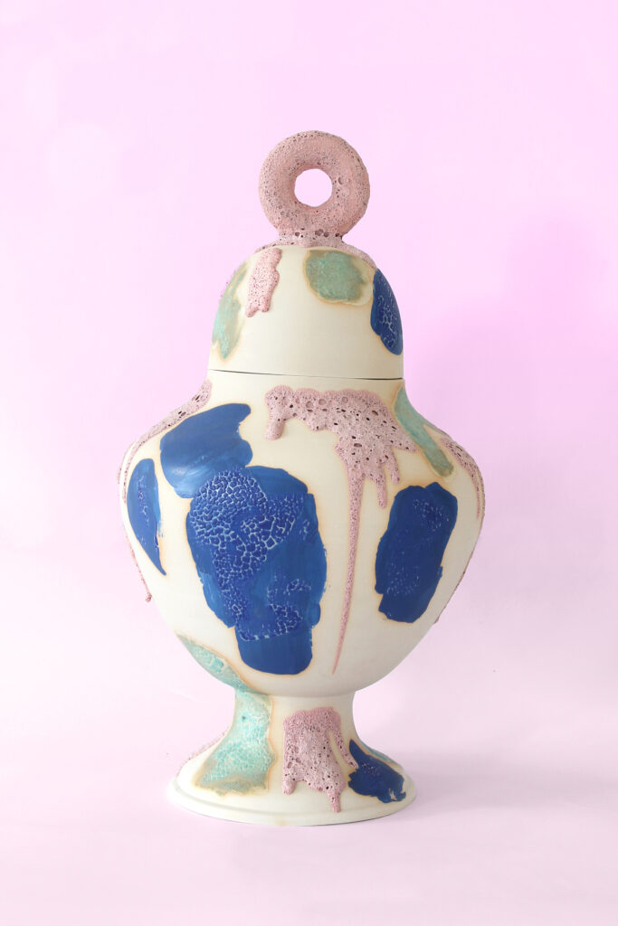 Pochmůrny od Gréty Kušnírové jsou výsledkem semestrální práce v Ateliéru keramiky a porcelánu na UMPRUM. Zdroj Gréta Kušnírová
