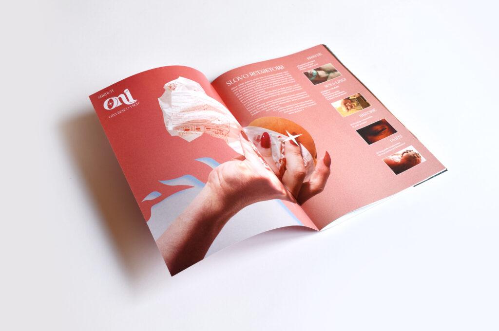 Ukázka magazínu ONI. Zdroj Radim Pergl
