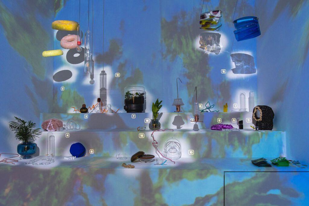 Z ústecké Fakulty umění a designu UJEP vystavuje kromě ateliéru Produktový design také ateliér Sklo. Zdroj facebook Ateliér Keramiky FDULS