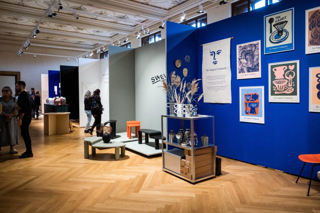 Instalace v rámci projektu Renesance 21 v budově Uměleckoprůmyslového muzea v Praze. Foto Tomáš Hercog